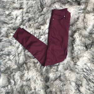 nwot size 27 Madewell High rise skinny jeans
